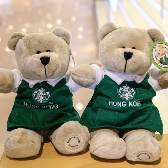 .@Harbour City | Next time you drop by @Starbucks Loves don't forget to greet the #barista #bears! #... | Webstagram
