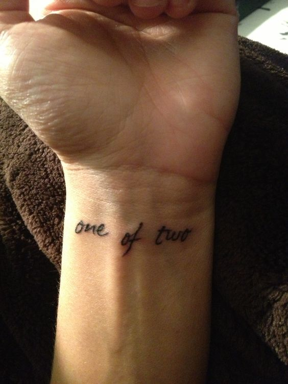 This would be so simple and perfect, then maybe the date under it?
