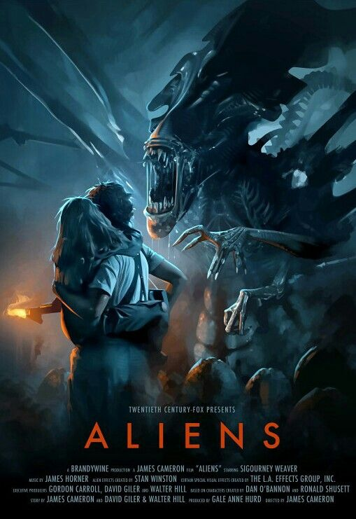 Aliens Com Imagens Posteres De Filmes Antigos Posteres De