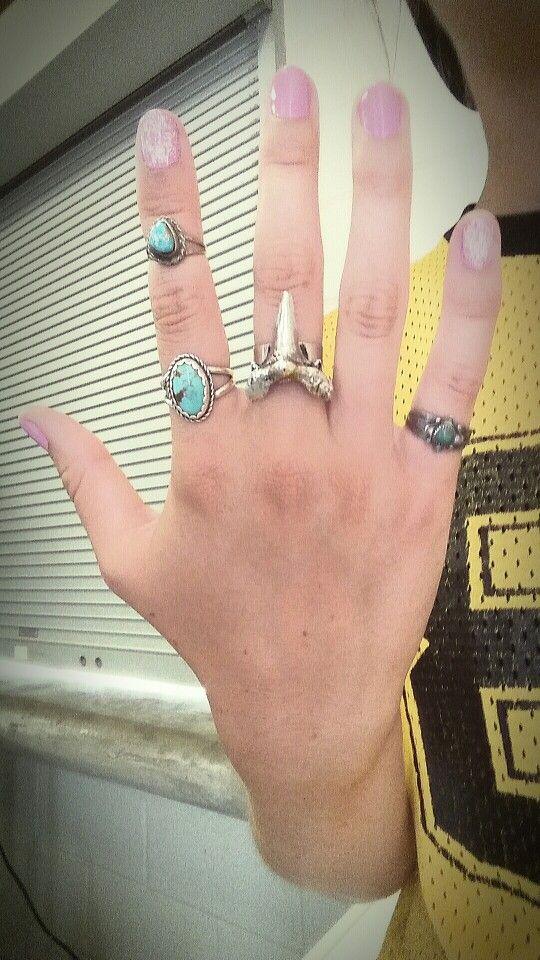 Turquoise//Shark RINGCANDY