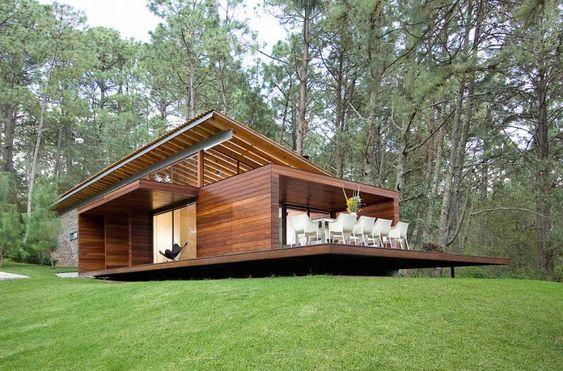 Casas De Campo De Madera Modernas