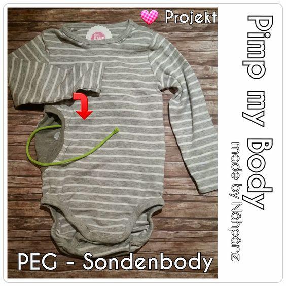 Pimp my Body - Herzprojekt - nähen für ein Kind mit PEG-Sonde