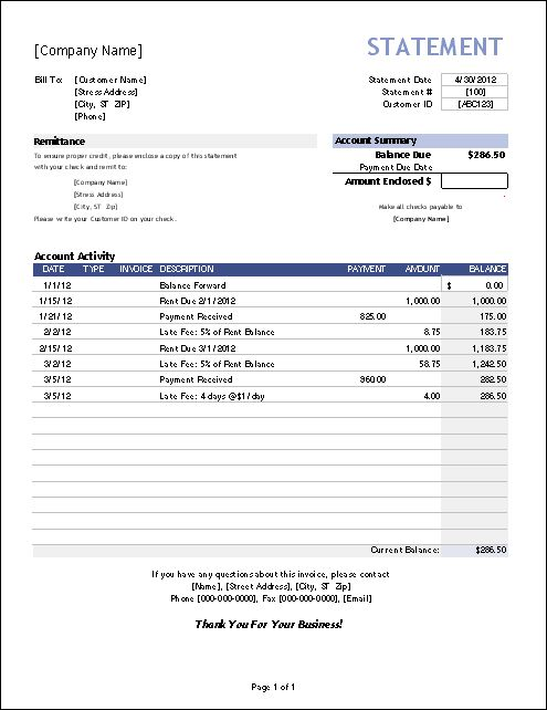Professional Income Statement Template Excel XLS u2013 Excel XLS - profit and loss report example