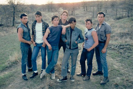 """The Outsiders.  """"Stay Gold"""""""