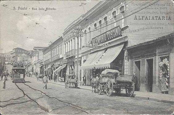 Brazil Sao Paulo Rua Joao Alfredo Alfaiataria L'Emporio Toscano | eBay