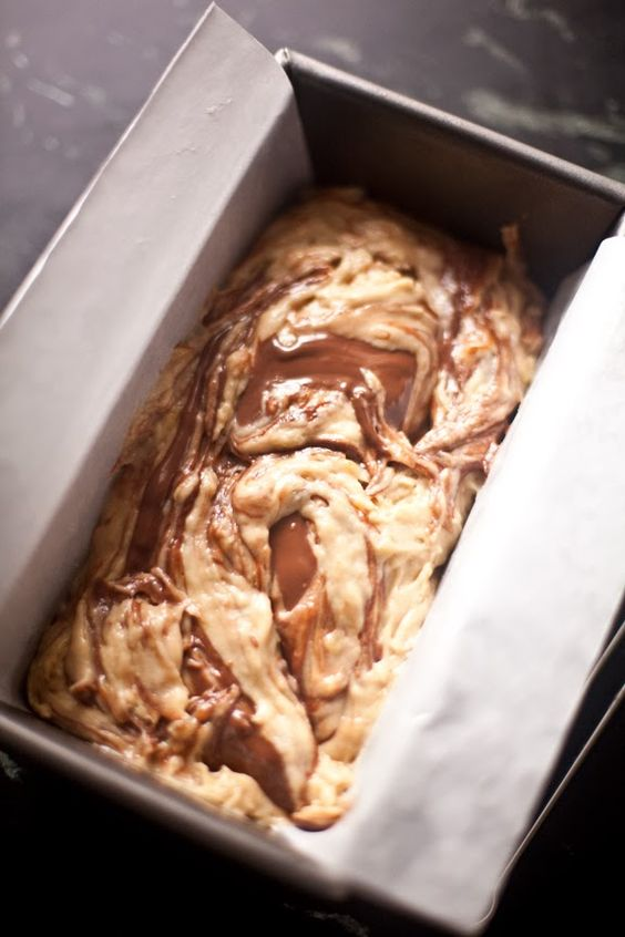 A CUP OF JO: Nutella Swirled Banana Bread