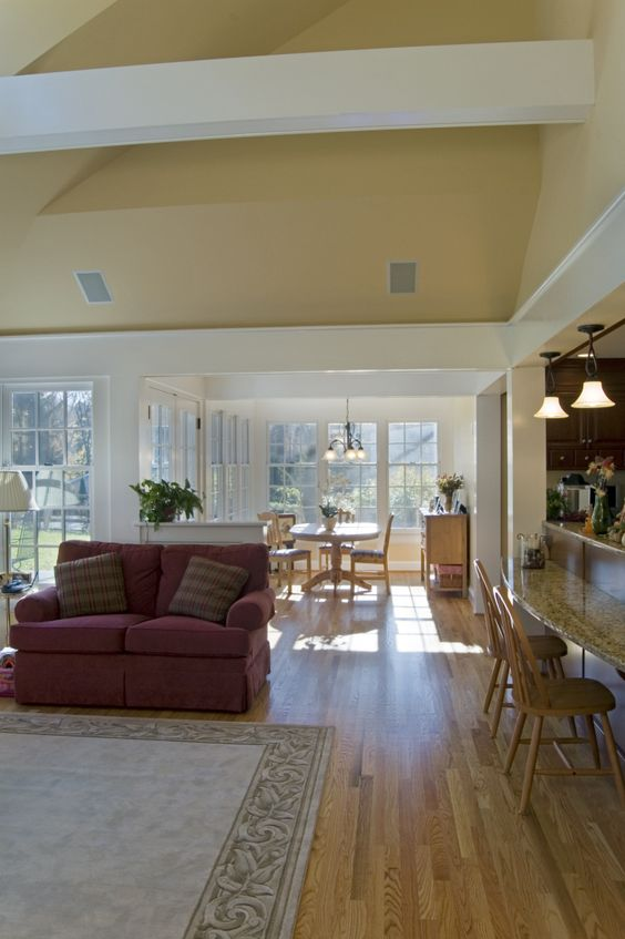 Family room addition off dining room would be nice to make the bfast nook a playroom for brynn - Dining room addition ...