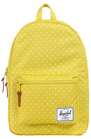 The Settlement Backpack in Apple Polka Dot by Herschel Supply  use rep code: OLIVE for 20% off!
