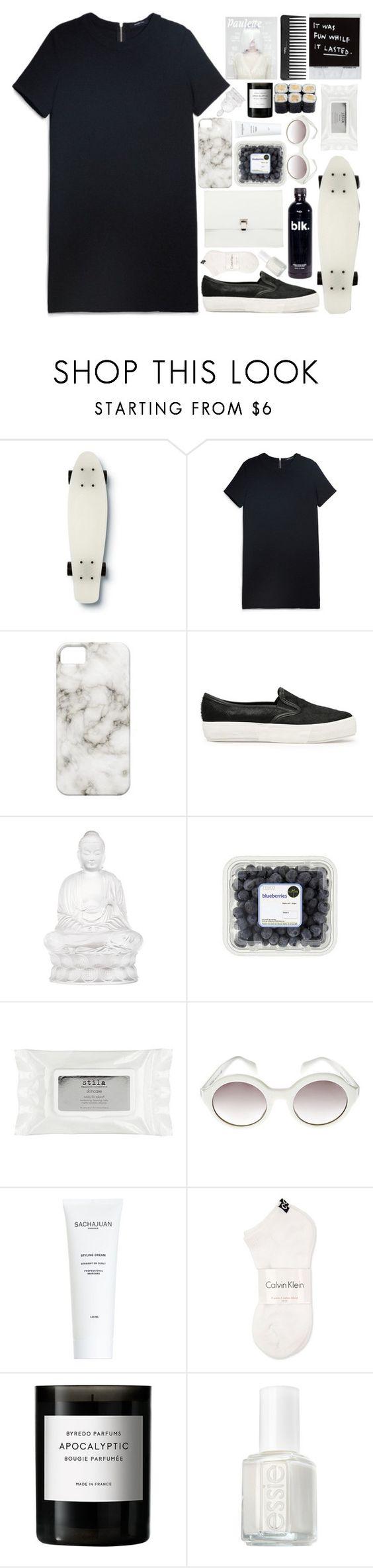 """Acèni"" by daniaindria ❤ liked on Polyvore featuring Quiksilver, MANGO, Lalique, Sephora Collection, Stila, Prada, J.Crew, Calvin Klein, Byredo and Essie"