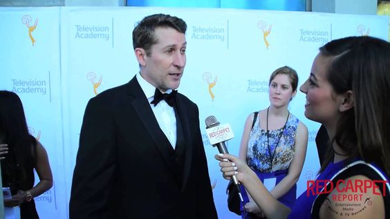 Interview with @ScottAukerman, Comedy Bang Bang, on the 67th #LAEmmys Awards Red Carpet #TelevisionAcad
