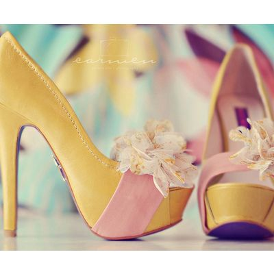 Adorable Bow Heels