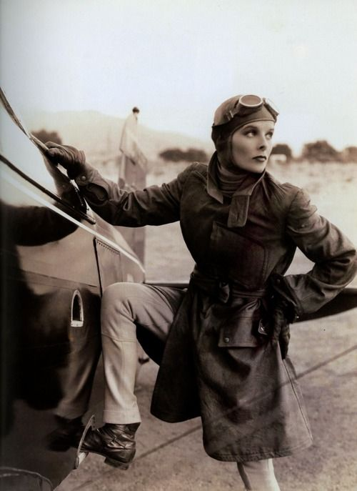 Katharine Hepburn in a publicity shot for Christopher Strong, 1933.: