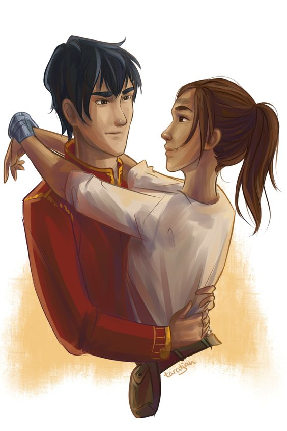 taratjah:  Kai and Cinder for the last Lunar Chronicles ship week ^.^: