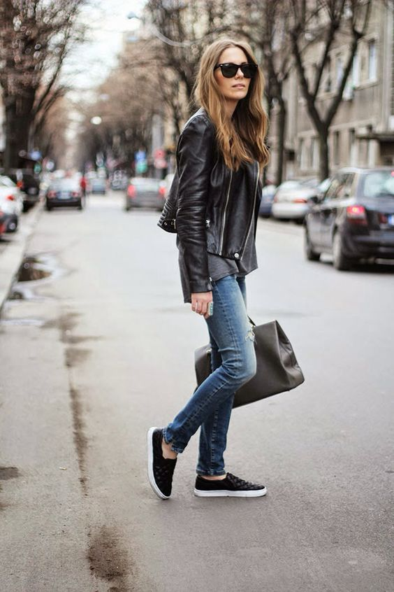 Everything but the bag - street style for fall