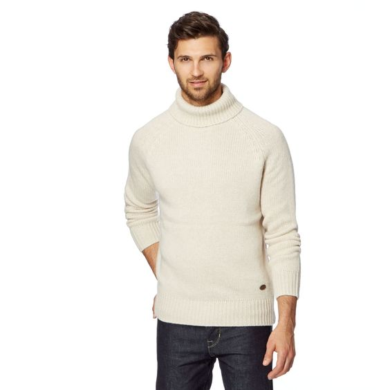 'Frobisher' Roll Neck Jumper M: Hammond & Co. by Patrick Grant
