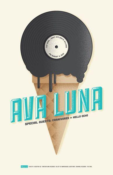 GigPosters.com - Ava Luna - Carnivores - Hello Ocho