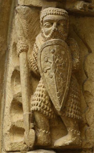 Guerrero de Piasca - Santa María la Real de Piasca, Liébana, Cantabria