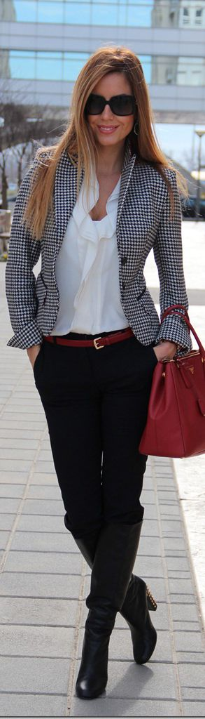 Black,white and red...favorite combination...: