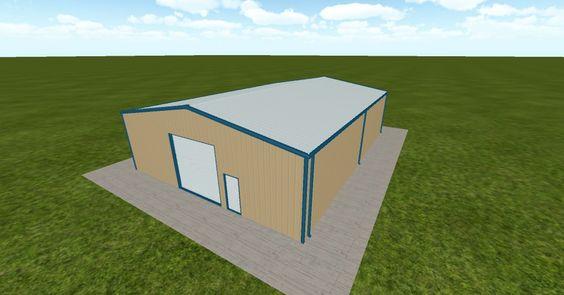 3D #architecture via @themuellerinc http://ift.tt/29xmjtL #barn #workshop #greenhouse #garage #DIY