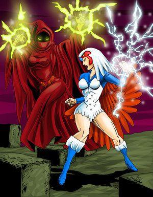 Shadow  vs Sorceress from He Man