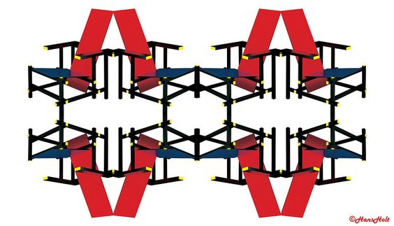 Rietveld meets Mondrian (1b)