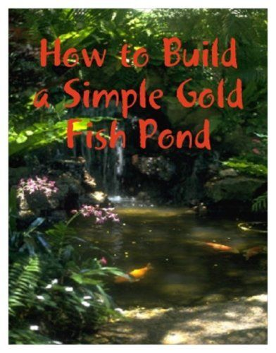 How to make a simple goldfish pond by m osterhoudt http How to build a goldfish pond