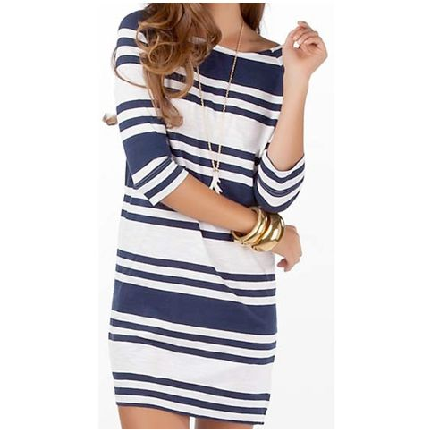 Stripped Dress / Lilly Pulitzer