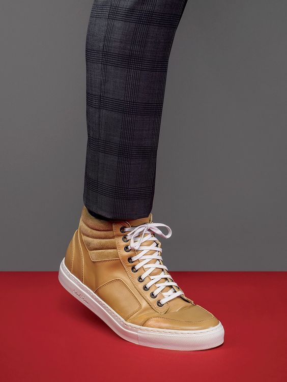 The Right Way to Wear High-Tops Photos   GQ