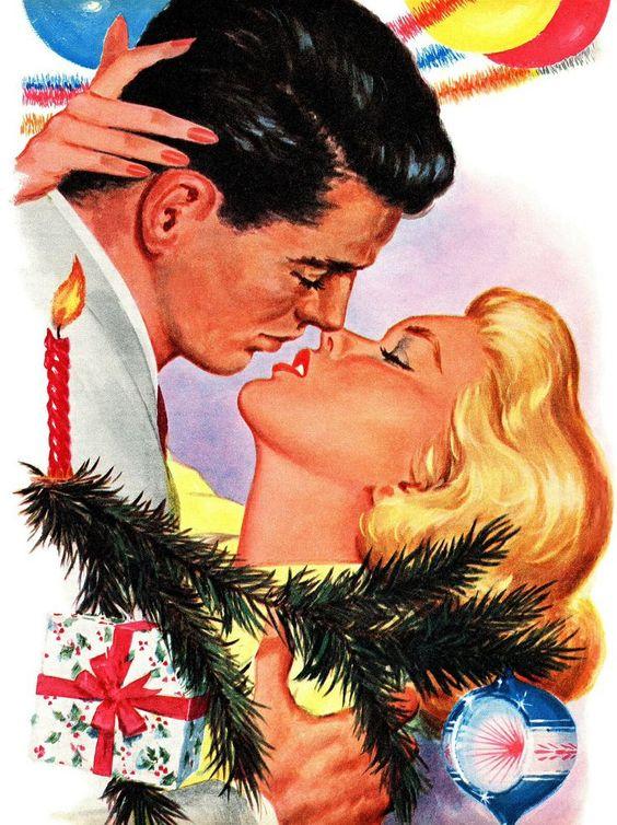 Bernard Stevens  –– Illustration for the story 'The Gift Of Love', December 1959 (736×984):