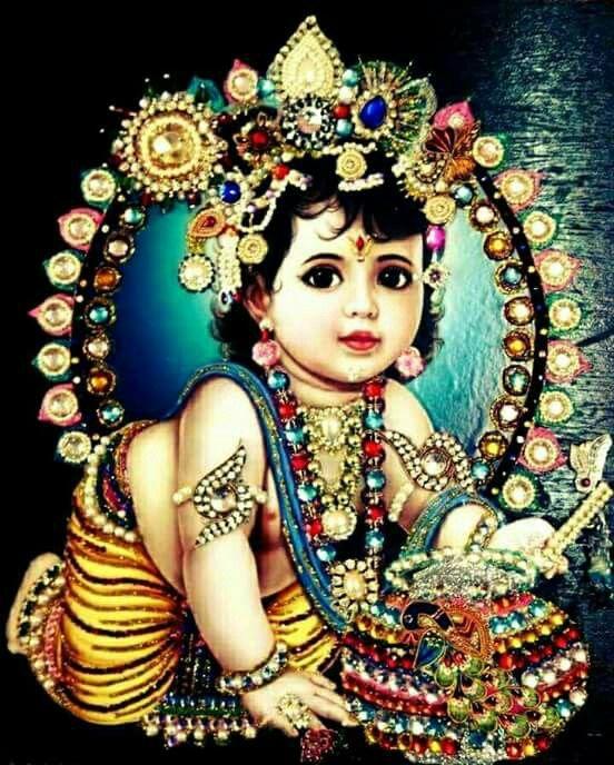 Pin By Santa On Laddu Gopal Bal Krishna Baby Krishna Krishna Hindu
