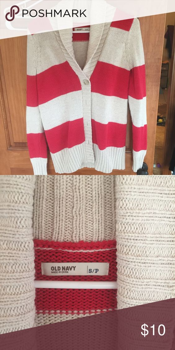 Old Navy button up Used but in good shape.  Warm for winter. Old Navy Sweaters