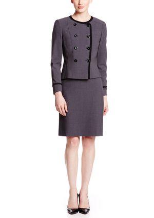 On ideel: TAHARI ARTHUR S. LEVINE Bi-Stretch Skirt Suit