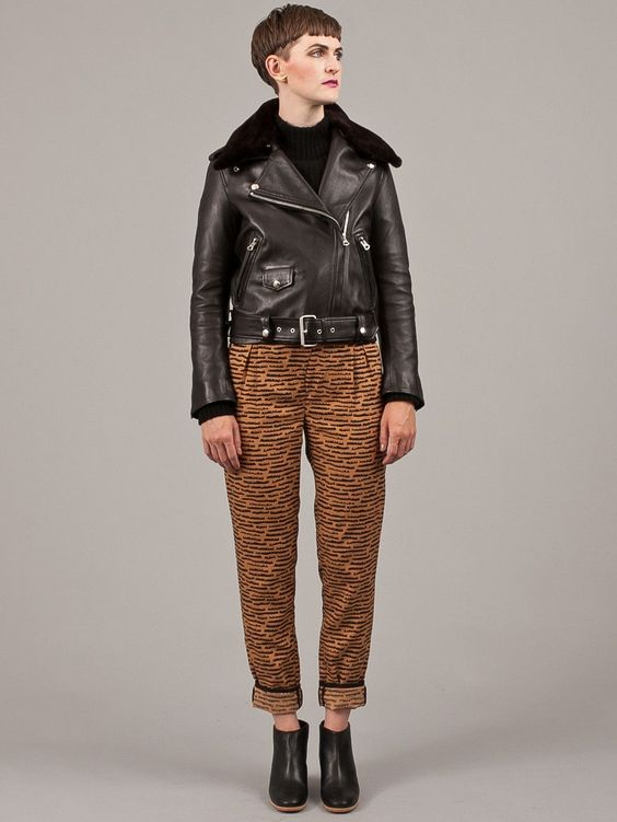 Acne Mape Shearling Jacket