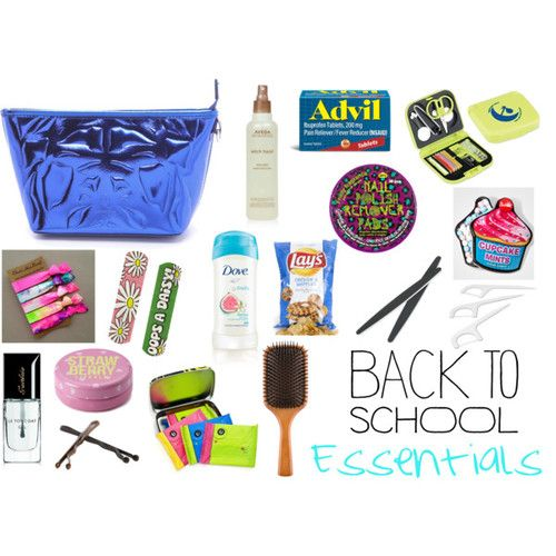 Back-to-School Supplies Checklist Backpack? Check. Lunch box? Check. Safety scissors? Er The basics to buy your young scholar, from preschool to high school.