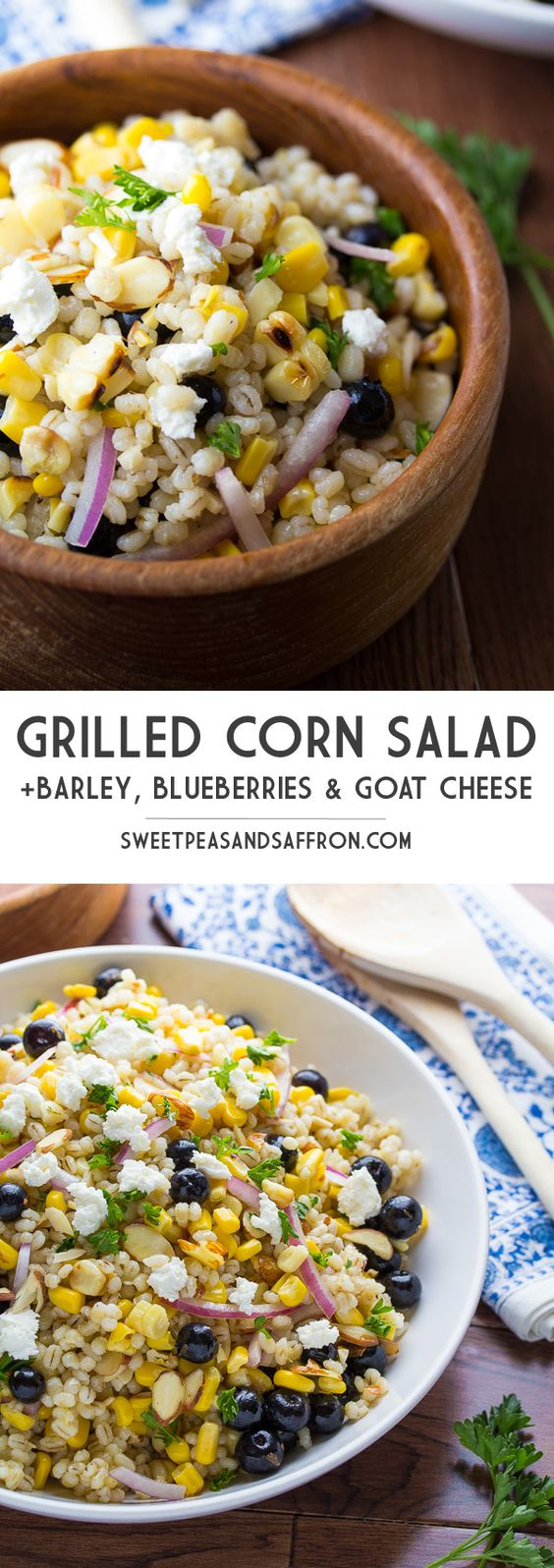 ... cheese goats blueberries salads grilled corn salad cheese corn salads