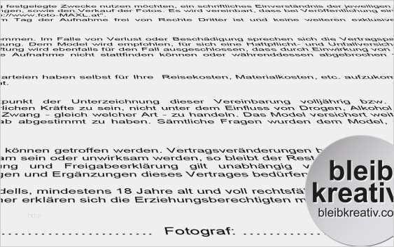 Fotografenvertrag Erstellen Smartlaw 7