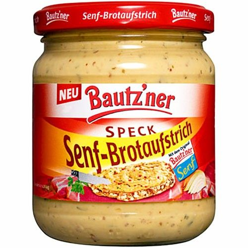 Bautzner Senf-Brotaufstrich