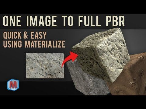 Materialize Quick Start Guide Pbr Textures In Minutes