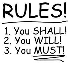 1-2-3... SHALL, WILL & MUST!!!