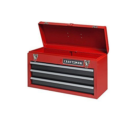 Craftsman 3 Drawer Portable Tool Chest Heavy Duty Convenience Secure Latch Lock //  sc 1 st  Pinterest & Craftsman 3 Drawer Portable Tool Chest Heavy Duty Convenience Secure ...