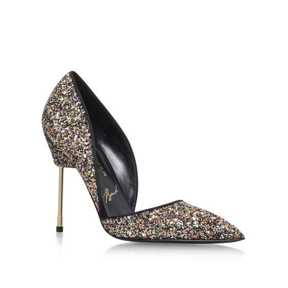 Bond Multi-coloured High Heel Court Shoes By Kurt Geiger London   Kurt Geiger