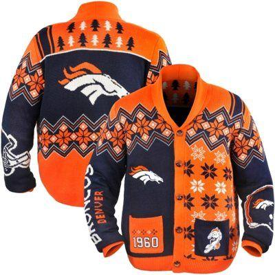 Nike Broncos Men's Ugly Sweater_2