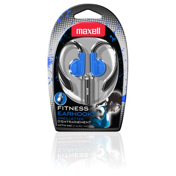 Maxell Fitness Earhook with MIC, #199637