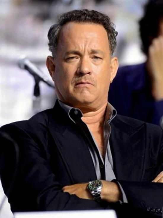 Tom hanks wears a rolex milgauss watch celebrity watches pinterest toms rolex and celebs for Celebrity wearing rolex watches