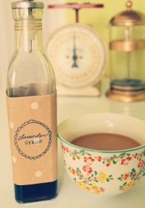 Always wondered how to make my own lavender syrup!! Love this blog. http://thegreencupboard.net/blog/