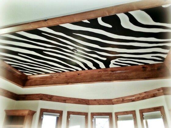 Zebra Ceiling by Becky Watson