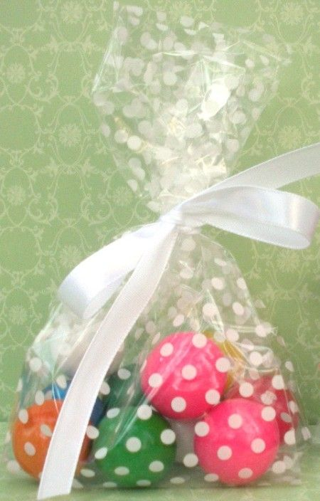 Gumball favours #polka#dot#party