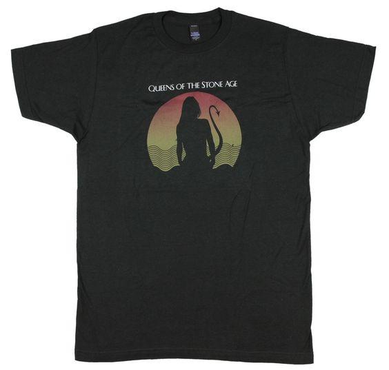 Queens Of The Stone Age Men's Succubus Slim Fit T-shirt Black