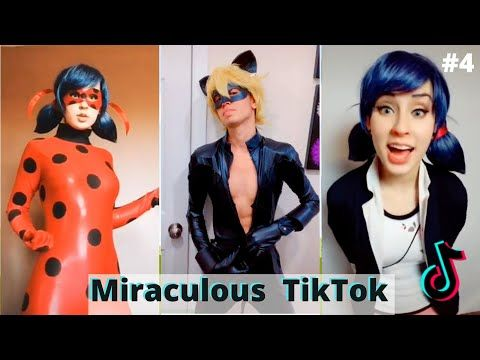 Miraculous Ladybug And Chat Noir Tiktok Compilation 4 Youtube Girl Artist Chat Noir Disney Music