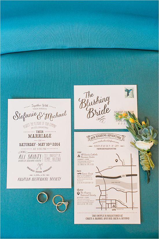 fun fonts wedding stationery - Boutonnire Invit Mariage